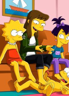 Os Simpsons Hentai - Foto 23