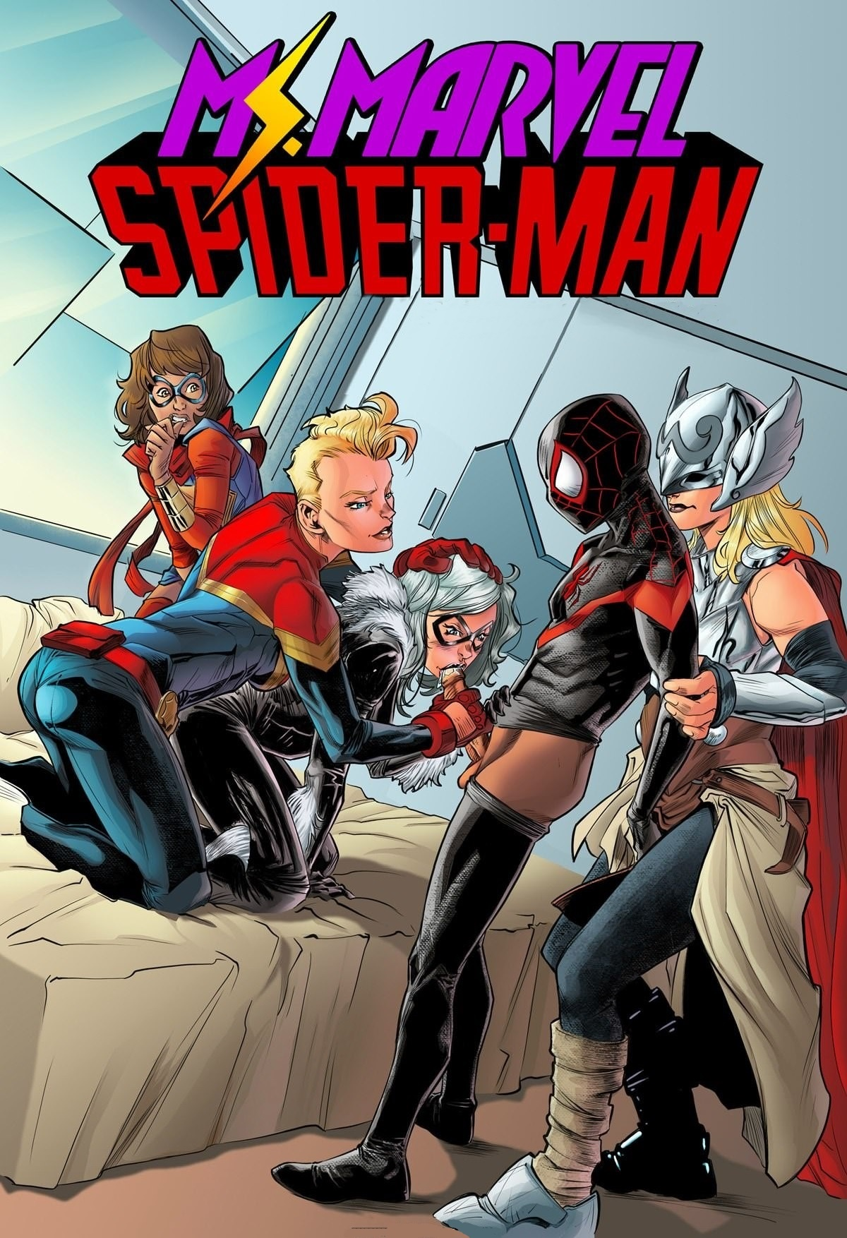 Miss Marvel Spiderman
